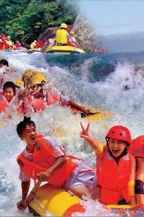 湿身一夏—寿宁犀溪野漂计划