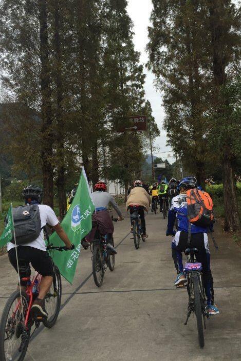 聚友户外单车俱乐部骑行活动