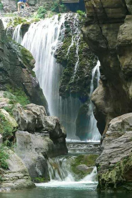 4月23号 相约蟒河一起游山玩水  戏猕猴
