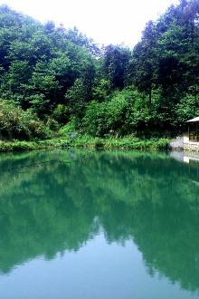 黄山翡翠谷夹溪河漂流一日游