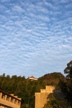 1月14日安徽宣城柏砚山登山活动