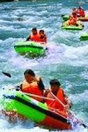8月8日安徽凤凰源蓝水河漂流一日活动