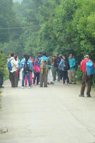 4月9日徒步穿越横山林场、四进山、铜山活动