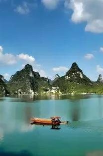 """8月23日""""中国的下龙湾""""上林大龙湖一日活动"""