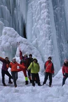 冰雪童话世界—官鹅沟