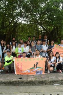 松山湖徒步骑行
