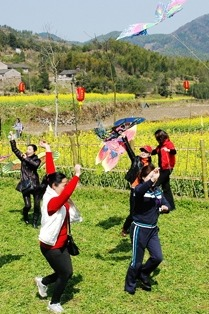 【踏青】4月18日相聚齐山爬山赏花放风筝自驾跟车均可