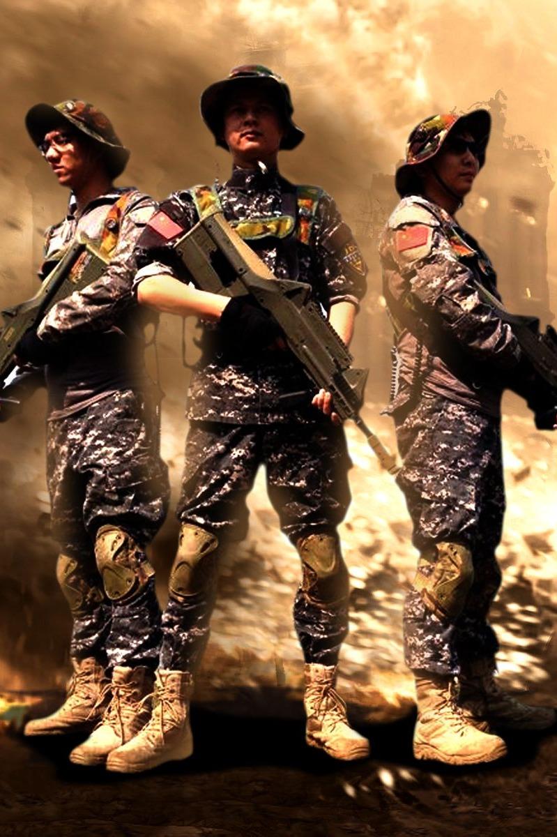 现实版'穿越火线'真人PK对战活动现在开始报名!