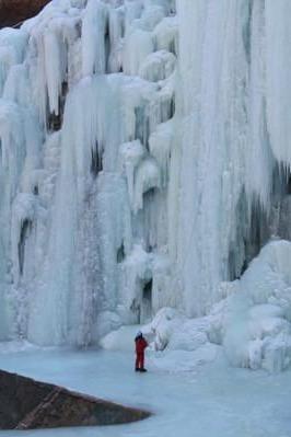 14号密云桃源仙谷赏冰瀑徒步爬山
