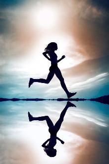 一群晨跑吧!