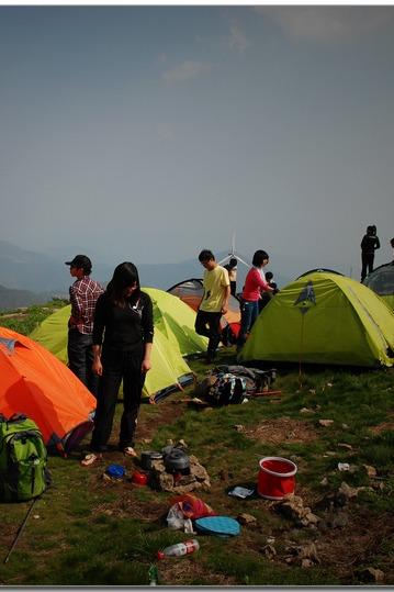 (2015.6.21,6.22)AA自驾,露营东白山,徒步西白山
