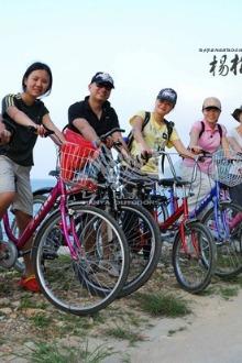 2月8日,杨梅坑野炊,骑单车看海