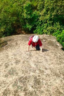 奉化十连岩爬山+迷人谷溯溪活动