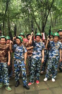 7月24日贡井人民公园真人对抗赛