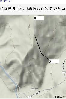 2015年8月23日拟攀登三道湾镇北峰