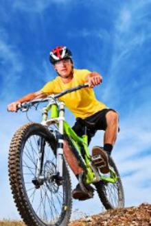 骑自行车松山湖一游