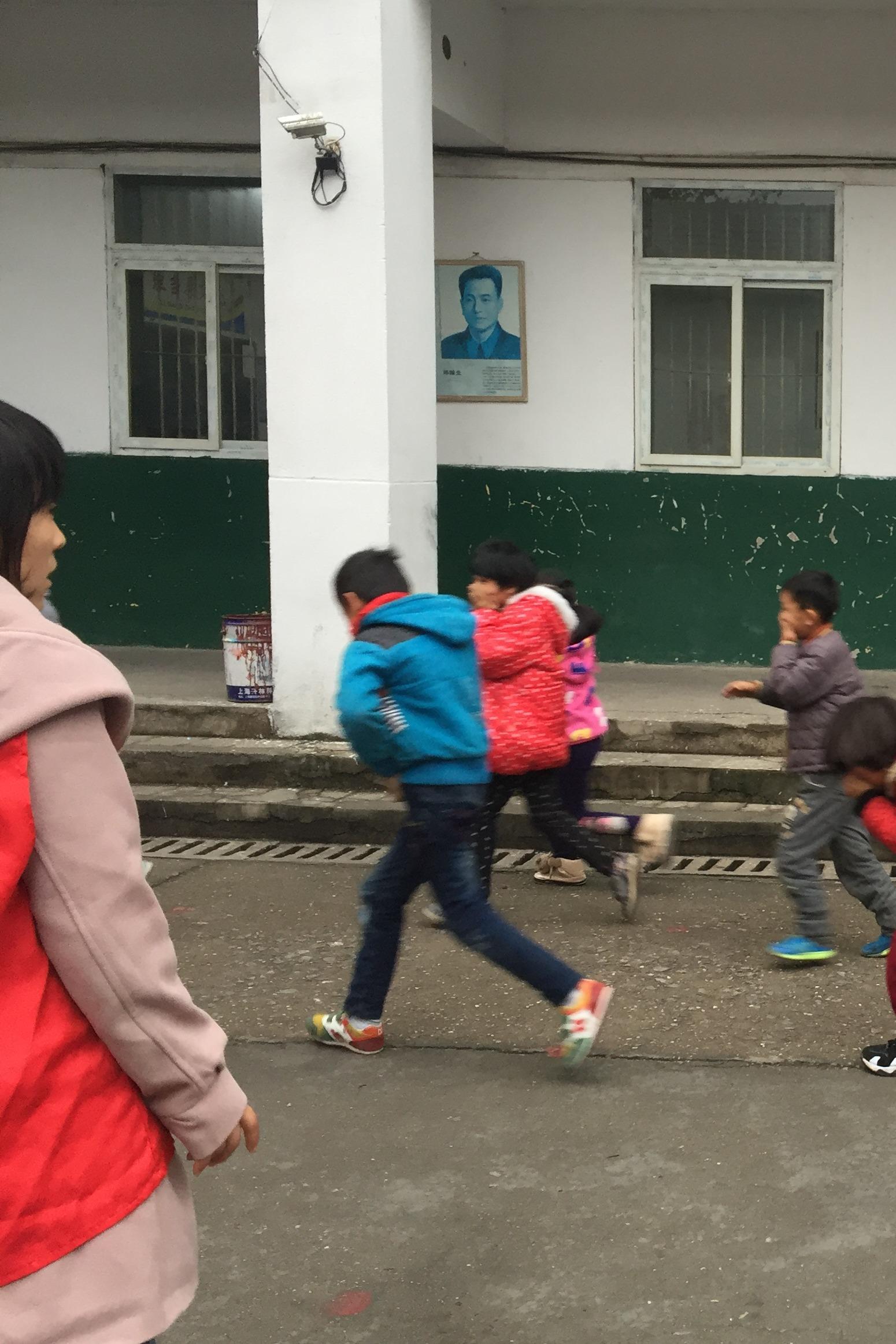 公益志愿者活动:关爱小候-紧急疏散演习
