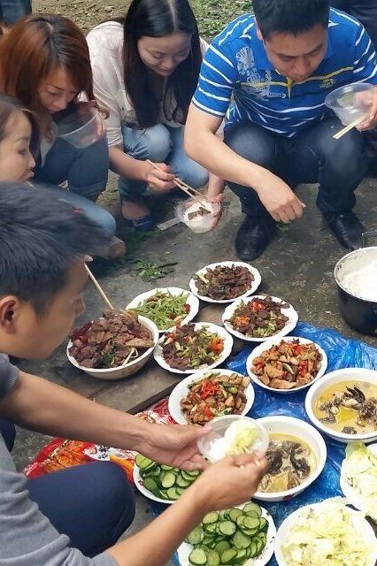 侗文化城户外野炊活动