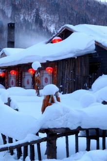 """畅游户外冬季线路—""""爸爸去哪了""""雪谷、雪乡、长白山"""