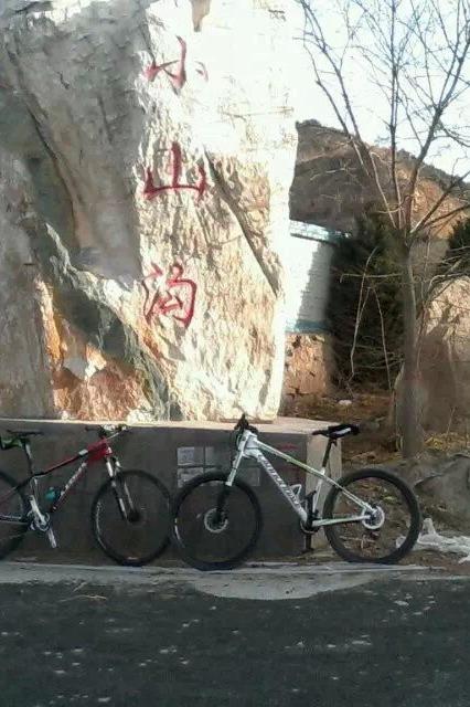 穿越骑行东山五龙生态园、小山沟、雕塑、孟家井、庙碉