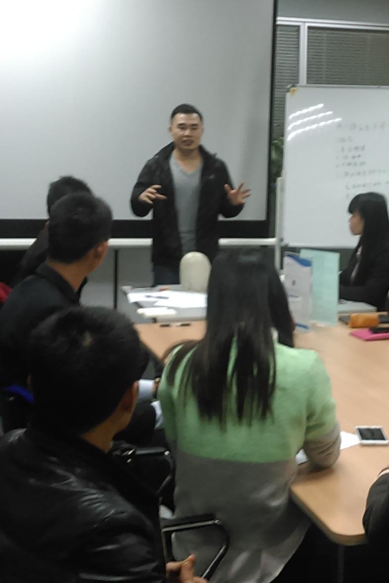 梦想行动盟公益学习会-语言思维与表达