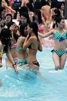 龙泉游泳活动(地点:旅游学院)