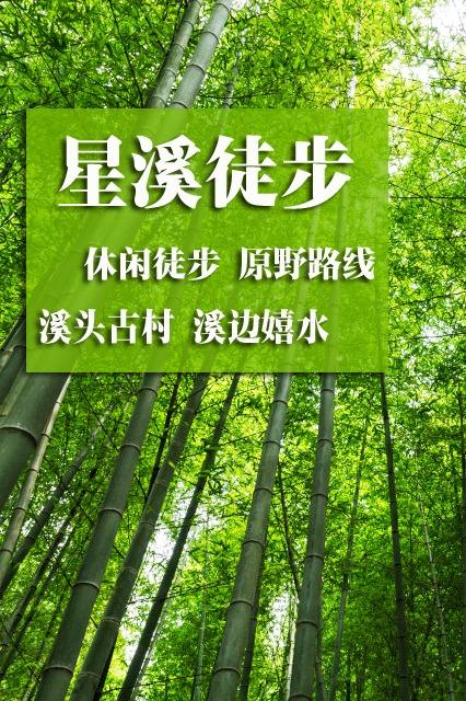 星溪漫步丨从化星溪线竹林漫步、高山原始村落