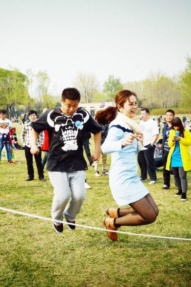 春暖花开,幸福到来-北京户外游园相亲活动