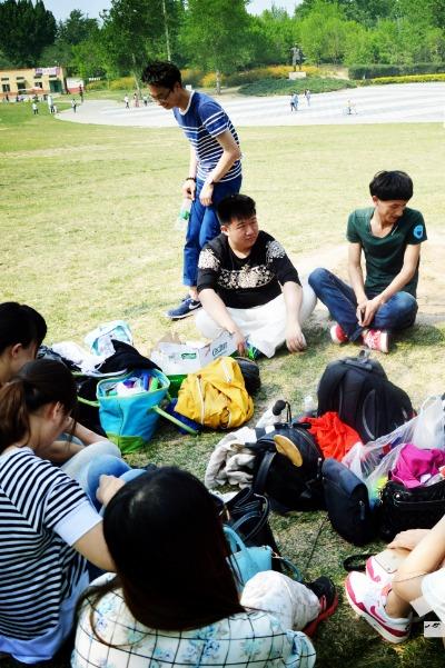 夏季热恋,牵手一瞬间-北京小型户外相亲