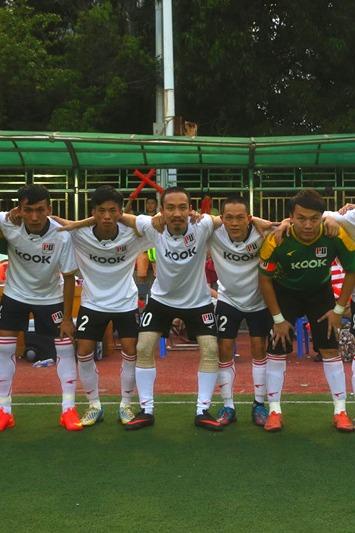 广州行威足球俱乐部 第四场中环主场测试赛