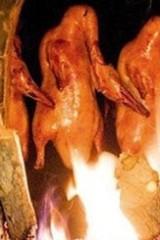 广州番禺市桥老北京烤鸭十菜两汤交友品美食群聚