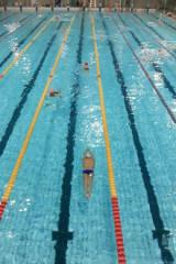 成都游泳村6月15日游泳活动