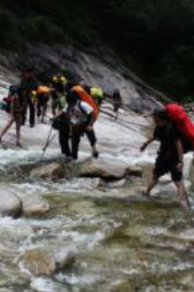 8月15日(周六)狼牙谷穿越、肉漂、跳潭活动