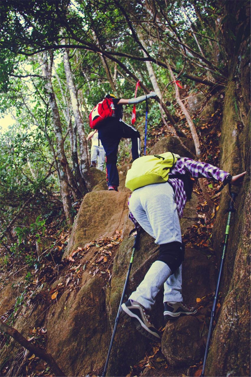 12月18日登顶广州第二高峰:从化鸡枕山