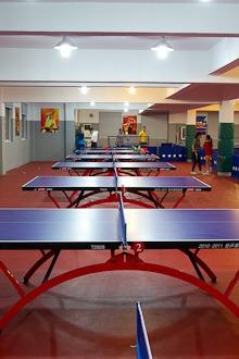 亮捷乒乓球交流赛