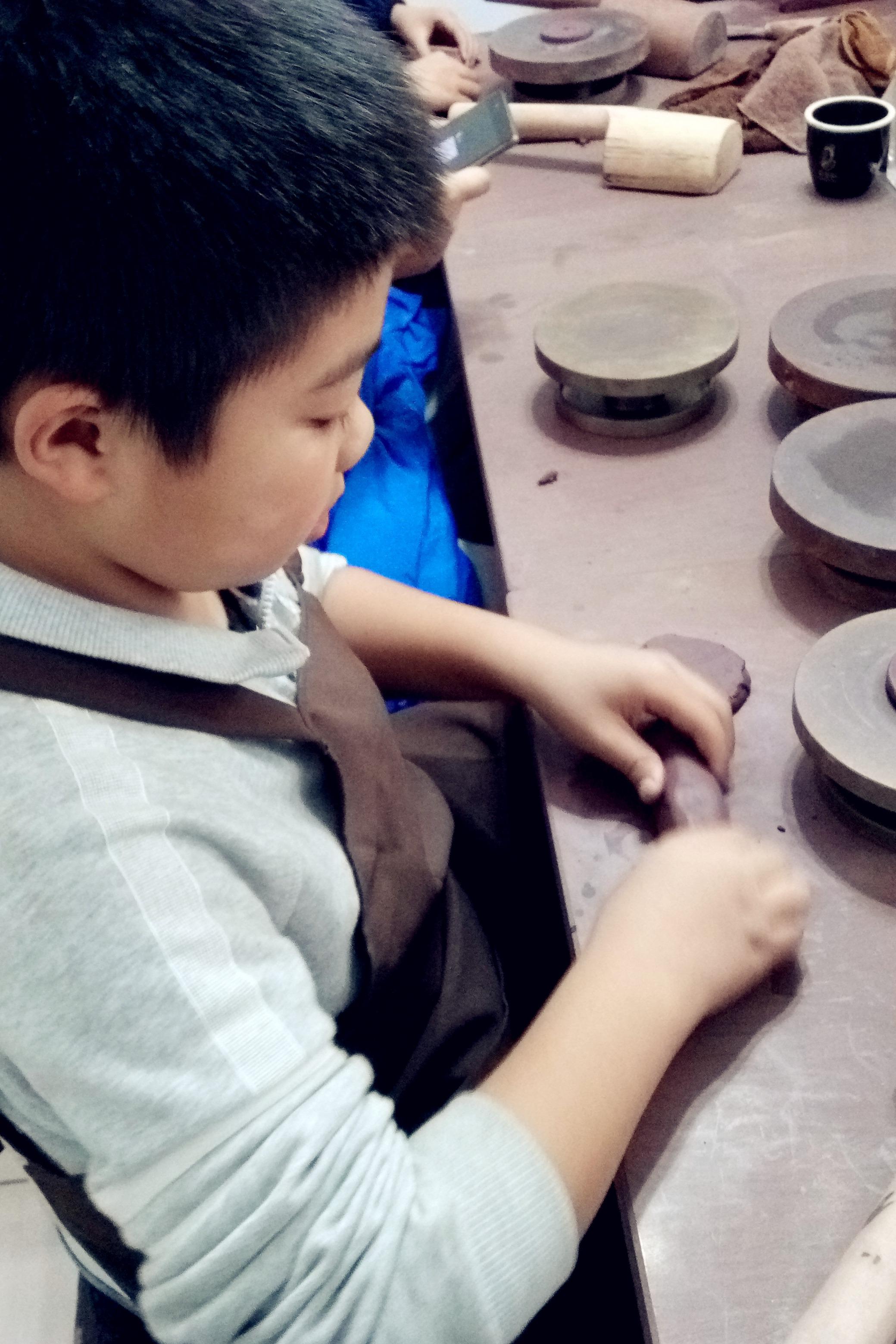 12月11号(周日)带你体验紫砂手工DIY的乐趣