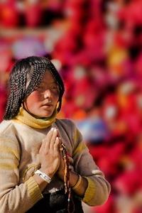 红火苗   10.01-06日  佛国世界-色达环线主题摄影