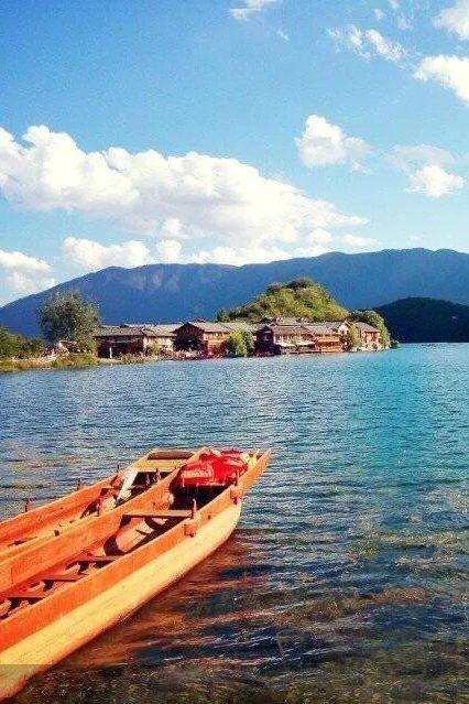 4.3号—6号,我在泸沽湖等你,情人滩露营,满是星空。