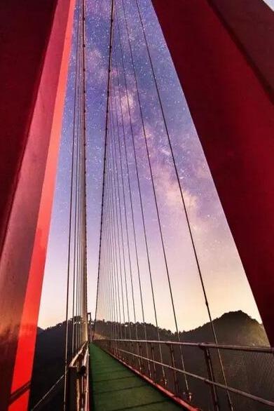 琅琊户外:10月2号天蒙观世界第一索桥玻璃观景台