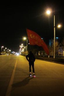 曲靖穿行者轮滑联盟2015-2-14刷街活动
