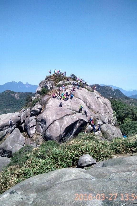 11月2日 (周三)登从化老虎头,挑战千米峰