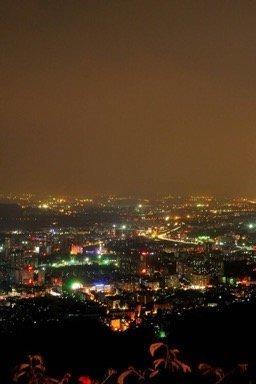 6月22日(周三)晚上夜走白云山