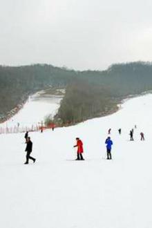 跨年大别山滑雪一日游