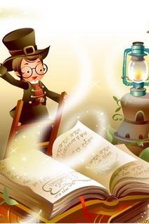 来和小朋友一起把两字词语变成童话故事!