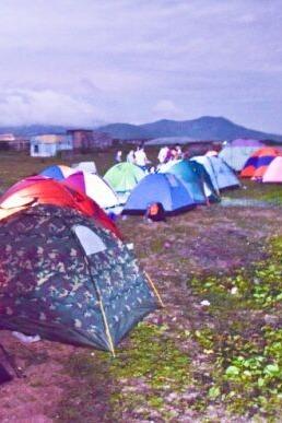 07-09双月湾露营穿越抓海胆捡贝壳游泳看日出日落