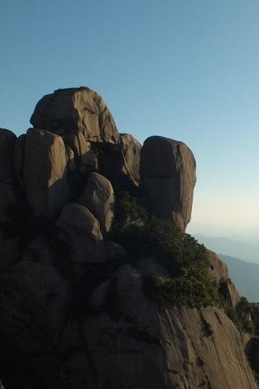 9月10.11日攀爬狮子峰露营速降