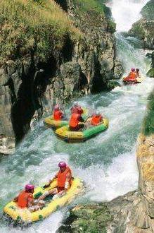 9月3日清远古龙峡漂流、万丈崖瀑布探险、小北江观光