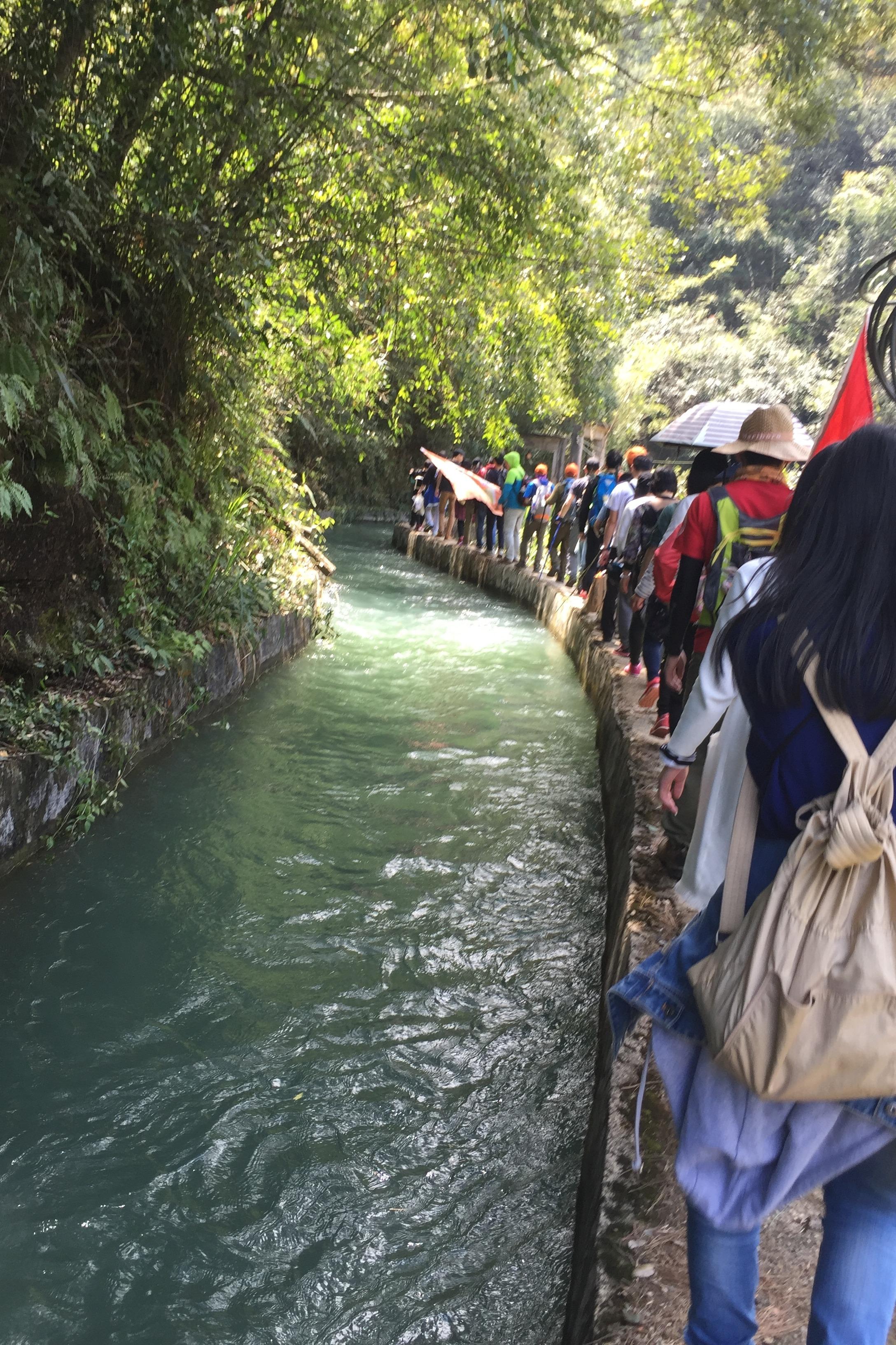 8.28日,广东最美乡村,从化经典影古线徒步