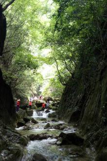 8.28日(周日)南漳般若寺峡谷溯溪徒步穿越 和