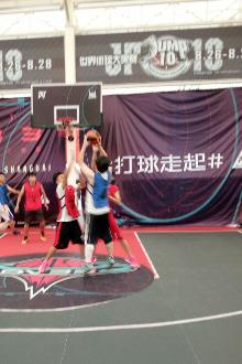 每周必打球周三鑫空篮球馆